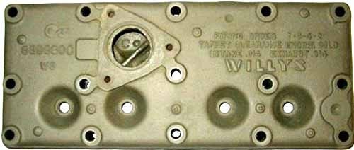 Hd Mid on Willys M38 Engine